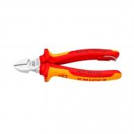 Клещи резачки KNIPEX ф2.0-4.0/160мм, VS, двукомпонетна дръжка, 1000V