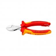 Клещи резачки KNIPEX ф2.2-4.8/160мм, CrV, двукомпонентна дръжка, 1000V