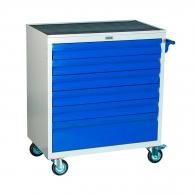 Количка за инструменти с чекмеджета PROMET WDS-6, с 6-чекмеджета, без инструменти, 820x453x870мм