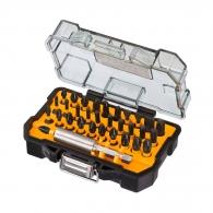 Комплект накрайници ударни DEWALT 32части, PH, PZ, SB, TX с магнитен държач