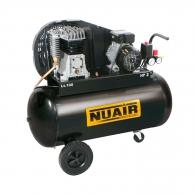 Компресор FINI NUAIR B2800/100 CM2, 100l, 10bar, 255 l/min, 1.5kW, 2.0hp, 230V