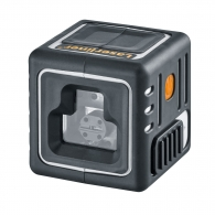 Линеен лазерен нивелир LASERLINER CompactCube-Laser 3, 3 лазерни линии, точност 5.0mm/10m, автоматично