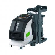 Линеен лазерен нивелир LASERLINER MasterCross-Laser 2GP, 2 лазерни линии, точност 2mm/10m, автоматично