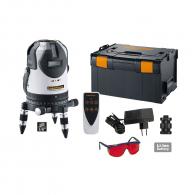 Линеен лазерен нивелир LASERLINER PowerCross-Laser 8 S, 8 лазерни линии, точност 1.0mm/10m, автоматично
