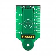Мишена магнитна за лазерен нивелир STANLEY-зелена