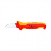 Нож за сваляне на изолация KNIPEX 40-50мм, изолиран 1000V