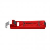Нож за сваляне на изолация KNIPEX 8-28мм