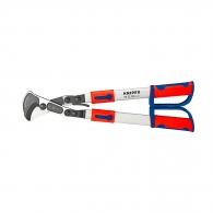 Ножица за кабели KNIPEX 570мм, ф38мм, Cu-Al, двукомпонентна дръжка