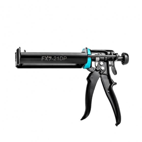 Пистолет за химически анкер IRION X7 - 21DP, 2x110мл, черен, метален