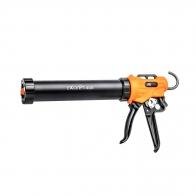 Пистолет за силикон и меки опаковки IRION Ексепт 400, 310/400мл, червен/оранжев, метален