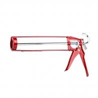 Пистолет за силикон IRION HS84-S, 310мл, червен, метален