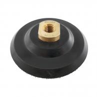 Подложка велкро за ъглошлайф RUBI ф100мм/М14, за диск за полиране