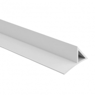 Профил за скосен ъгъл с приковаваща основа NEVOGA DREIKANTLEISTE HOHL 20, 2.5м, 20х28х36мм, в опаковка 100м