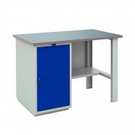 Работно бюро PROMET PROFI WT 120 WD1/F1, с един шкаф, 750кг. товароносимост