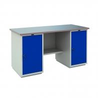 Работно бюро PROMET PROFI WT 160 WD1/WD1, с два шкафа, 1000кг. товароносимост