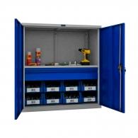 Шкафове за инструменти PROMET TC1095 001010, с един рафт и едно чекмедже, 200кг. товароносимост