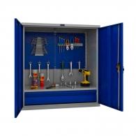 Шкафове за инструменти PROMET TC1095 021010, с екран, един рафт и едно чекмедже, 200кг. товароносимост