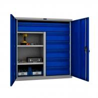 Шкафове за инструменти PROMET TC1095 100215, с два рафта и шест чекмеджета, 200кг. товароносимост