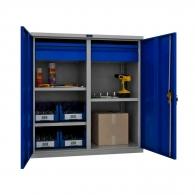 Шкафове за инструменти PROMET TC1095 100302, с три рафта и две чекмеджета, 200кг. товароносимост