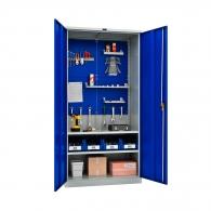 Шкафове за инструменти PROMET TC1995 042000, с двоен екран, два рафта, 500кг. товароносимост