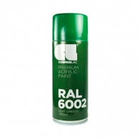 Спрей маркиращ COSMOS LAC, зелен, №460, RAL 6002, 400мл