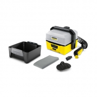 Уред за мобилно почистване KARCHER OC 3 + Pet, 6V, 7.5Ah, Li-Ion, 4л. резервоар, 2л/мин, 15мин за работа