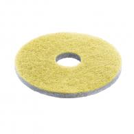 Диамантен пад жълт KARCHER 356мм, среден, за почистване и обновяване, за B 90 R, BD 38/12 C, BD 70/75 W