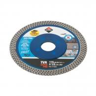 Диск диамантен RUBI Turbo Viper TVA Superpro 115х1.4x22.23мм, керамика, порцелан, сухо рязане