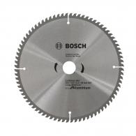 Диск с твърдосплавни пластини BOSCH Eco for Aluminium 254/3.0/30 Z=80, за алуминий