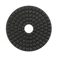 Диск за полиране DIMO 100х1.5мм P30, за сухо полиране на гранит, мрамор и подова мозайка, черен