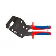 Клещи за съединяване на ламарина KNIPEX 250мм, макс. 1.2мм (2x0.6мм), двукомпонентна дръжка