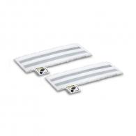 Комплект абразивни кърпи за подова дюза KARCHER EasyFix 345мм/2бр, за подове, за SC 1, SC 2, SC 3, SC 4, SC 5 и SI 4