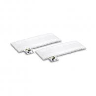 Комплект микрофибърни кърпи за под KARCHER EasyFix 345мм/2бр, за твърди подове, за SC 1, SC 2, SC 3, SC 4, SC 5 и SI 4