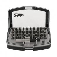 Комплект накрайници FELO Bit Box 31части, PH, PZ, SB, TX с магнитен държач
