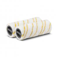 Комплект ролки микрофибърни KARCHER 300мм-жълти, за всички твърди подове - включително паркет, за FC 3, FC 5 и FC 7