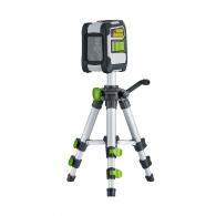 Линеен лазерен нивелир LASERLINER CompactCross-Laser Pro, 2 лазерни линии, точност 3.5mm/10m, автоматично