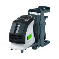 Линеен лазерен нивелир LASERLINER MasterCross-Laser 2GP Set, 2 лазерни линии, точност 2mm/10m, автоматично