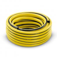 """Маркуч за вода KARCHER PrimoFlex 25мм/3/4""""-25м, 220g/m, за отводняване, 3-пластов с текстилна армировка, жълт"""