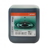 Масло двутактово STIHL НР Super 10л, полусинтетично