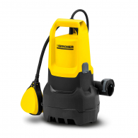 Помпа потопяема KARCHER SP 1 Dirt, 250W, 230V, Q=91l/min, H=4.5-7m, 1