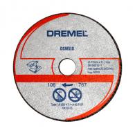 Диск карбиден DREMEL DSM510 77x11.1x2мм, за метал, пластмаса, плексиглас, сухо рязане