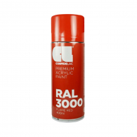 Спрей маркиращ COSMOS LAC, червен, №330, RAL 3000, 400мл