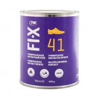 Универсално контактно лепило TKK FIX 41 750мл, влагоустойчиво, течно, неопрен