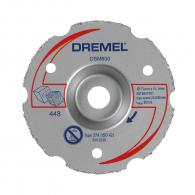 Диск карбиден DREMEL DSM600 77x11.1x2мм, за дърво, пластмаса, сухо рязане