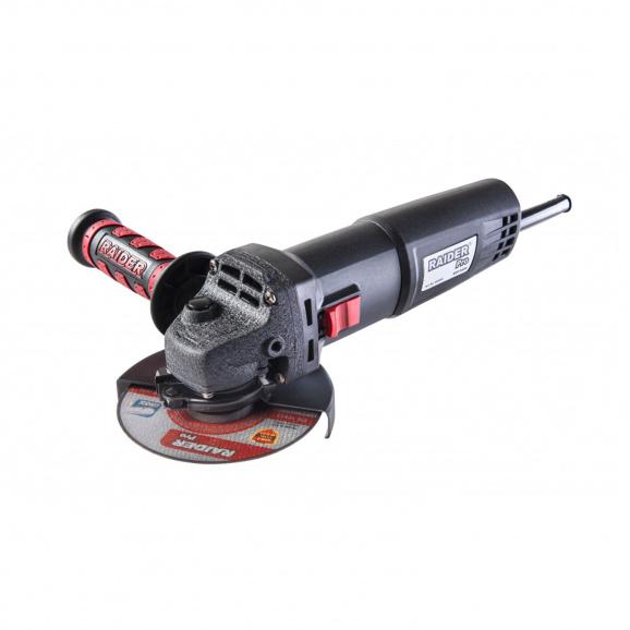 Ъглошлайф RAIDER RDP-AG62 Black edition, 900W, 11000об/мин, ф125мм