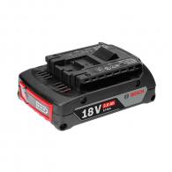 Батерия акумулаторна BOSCH GBA 18V 2.0Ah, 18V, 2.0Ah, Li-Ion