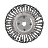 Четкa дисковa RAIDER ф200мм/М14, за ъглошлайф, плетена