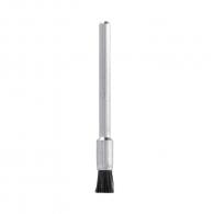 Четка камбанка DREMEL 405 ф3.2x3.2мм, за прав шлайф, конусовидна, естествен косъм, с опашка 3.2мм, черен