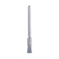Четка камбанка DREMEL 443 ф3.2x3.2мм, за прав шлайф, конусовидна, въглеродна стомана, с опашка 3.2мм, сребро