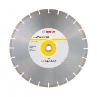 Диск диамантен BOSCH ECO for Universal 350x3.2x20мм, за бетон, гранит, тухла и естествен камък, сухо рязане